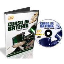 Curso De Bateria Para Intermediários Em Dvd
