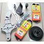 Kit Suporte Para Compressor Delphi Idea Uno Palio Doblo Fire