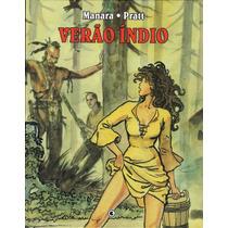 Graphic Novel Verão Índio Hugo Pratt Milo Manara Ed. Conrad