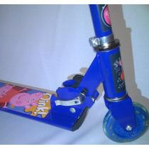 Patinete Infantil Pepa 3 Rodas Turma Peppa Pig Azul Etaqui