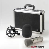 B2 Microfone Condensador Profissional Behringer Estúdio B-2