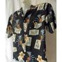 Camisa Jamaica Jaxx Hawaii Seda Abacaxi Luxo M 414