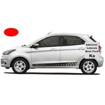 Adesivos Ford Nova Ka Kit Laterais Sport Hatch Sedan Mais +