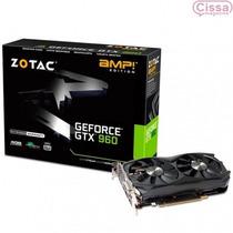 Placa Vga Geforce Gtx 960 4gb Zotac 128 Bits Com Garantia