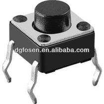 100 Peças Chave Tactil Botão Liga Desliga Atmel 4 T 6x6x5mm