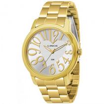 Relógio Lince Lrgk007l S2kx Feminino Dourado - Refinado