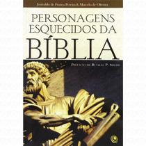 Promoção Livro Personagens Esquecidos Da Bíblia