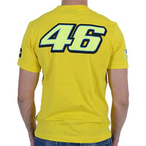 Camiseta Valentino Rossi Vr46 The Doctor Amarelo G(l) Rs1