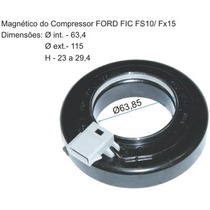 Magnetico Do Compressor Fic Ford Fs10/fx15 12v.115x65x30mm