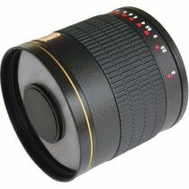 Lente Rokinon 800mm F/8.0 Mirror T-mount +pronta Entrega