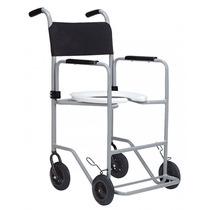 Cadeira De Rodas Para Banho E Sanitária, Pop - Jaguaribe