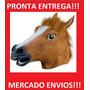 Mascara De Cavalo Cabeça De Cavalo Fantasia Cosplay<br><strong class='ch-price reputation-tooltip-price'>R$ 75<sup>00</sup></strong>