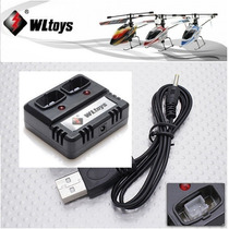 V911 Carregador De Bateria Wltoys V911 Novo Plug