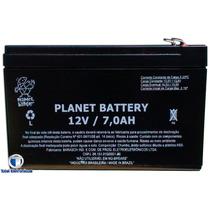 Bateria Selada 12v 7a Para Alarme E Cerca Elétrica
