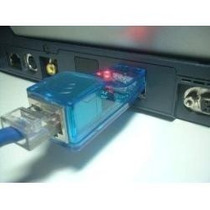 Placa Rede Usb Adaptador Portatil Lan Ethernet 10/100mb Rj45