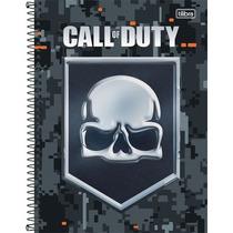 Combo 2 Caderno Tilibra Call Of Duty 10 Mat 200 Folhas