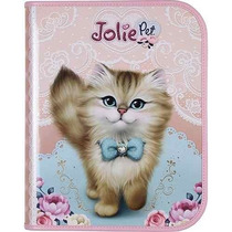 Fichário Universitário Jolie Pet - Tilibra
