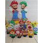 Kit Decoração 2 Mario Bros Sob Encomenda