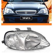 Farol Honda Civic 1999 2000 Lado Direito Novo