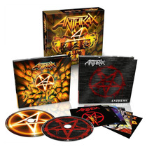 Box Anthrax - Worship Music + Anthems (alemão) Lacrado