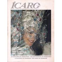 Varig Revista Ícaro Nº 78 / 1992 Ano 8 Carnaval Tam Grande.