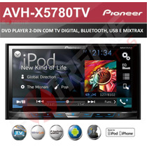 Dvd Player Pioneer Avh X5780tv Tv Digital Integrada Mixtrax