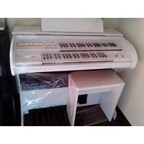 Orgão Eletronico Rohnes Onix Plus Branco