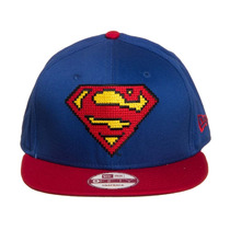Boné New Era 9fifty Superman Azul
