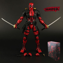 Boneco Marvel Deluxe Dead Pool Deadpool Action Figure 25 Cm
