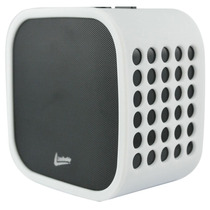 Caixa De Som Cubo Sem Fio Leadership Com Microfone Integrado