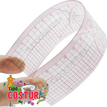 Régua Flexível Para Costura Patchwork 20cm