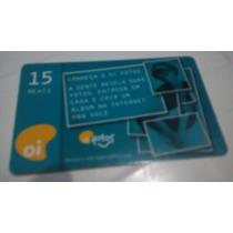 Cartão Telefônico Conheça A Oi Fotos Nº 724