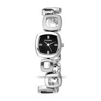 Relógio Feminino Fossil Prata Preto Aço Inoxidável Origin Mk