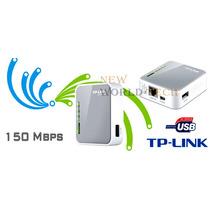Mini Roteador Portatil 3g Tp-link Tl-mr3020 W Sem O Modem