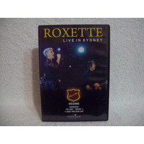 Dvd Original Roxette- Live In Sidney