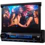Dvd Retrátil Tela 7 Aquarius Dpa 3001 Usb Touch Screen Nf
