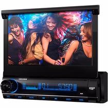 Dvd Retrátil 7 Aquarius Dpa 3001 Usb Touch Screen Mp3 Nf