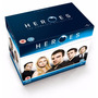 Blu-ray Box Heroes The Complete Collection {import} Lacrado