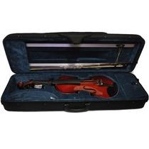 Violino Guarneri 3/4 Antique Luxo Completo Dv12 Com Case