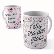 10 Canecas Personalizadas Em Porcelana Presente Dia Das Mães