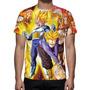 Camisa, Camiseta Dragon Ball Z Mod 02 - Estampa Total