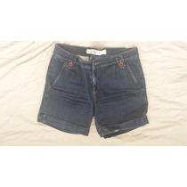 Shorts Jeans Social 40 Daslu 1 Uso, Novo Barra Dobrada Itali