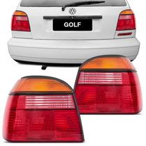 Lanterna Traseira Golf 93 94 95 96 Até 98 Mexicano Tricolor