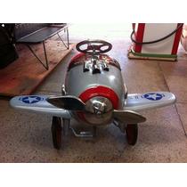 Avião Pedalcar Em Metal