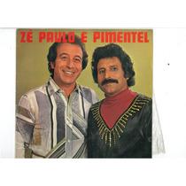Lp Ze Paulo E Pimentel Especial Para Colecionadores
