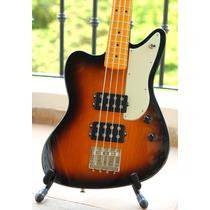 Fender Pawn Shop Reverse Jaguar Bass Sunburst. Raro! Novo!!