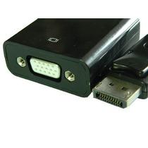 Cabo Adaptador Displayport Para Vga Fcadp4 P/dell Hp Lenovo