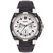Relógio Orient Mbscc031 S1px Masculino Couro - Refinado