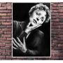 Poster Exclusivo Edith Piaf Cantora Francesa Retro 30x42cm