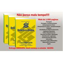 Apostila Banco Do Brasil Escriturário 2015+brindes